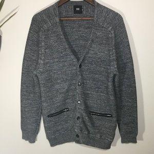 BIGE homme grey cardigan